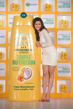 Alia Butt @ Launch all new Triple Nutrition product of Garnier Fructis