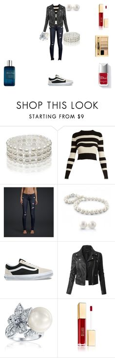 """""""Cèdre Atlas"""" by rascaldiva ❤ liked on Polyvore featuring Bling Jewelry, Proenza Schouler, Hollister Co., Vans, LE3NO, Milani, Couture Colour and Atelier Cologne"""