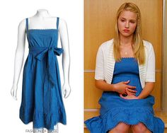 Juicy Couture Squash Blue Linen Sundress - Starting from $70.00 (EBAY size 0/XS)