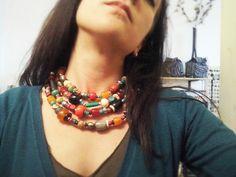 Scelte primaverili #legno #cocco #osso - #Frida #Creazioni