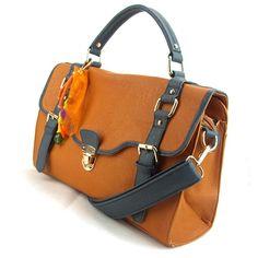 Brown designer boutique Vintage Handbag