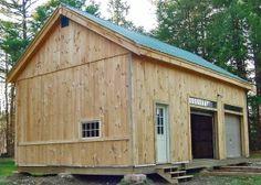 20x30 Garage - Exterior Garage Exterior, Garage Shed, Garage Kits, Barn Garage, Garage Plans, Garage House, Diy Garage, Garage Office, Garage Doors