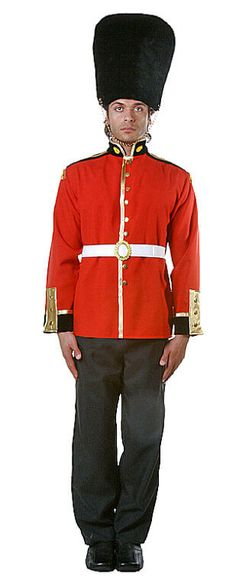 Deluxe Adult Royal Guard Costume - Candy Apple Costumes - Browse All Plus Size Costumes  $49.99