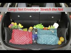 "Toyota Cargo Net Organizer | ""Stretch the Net"" 