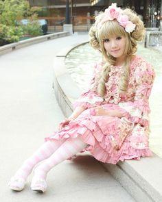 Sweet lolita   Adorable lolita Helena Braginski