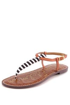 Stylish Striped Flat Sandals