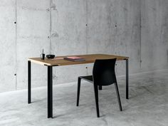 Rectangular MDF table TAL - FIORONI