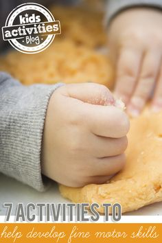 7 Activities to Help Develop Fine Motor Skills - Pinned by @PediaStaff – Please Visit ht.ly/63sNtfor all our pediatric therapy pins