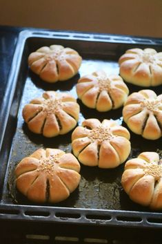 Korean Red Bean Paste Buns Recipe - Powered by Bulgogi, Paste Recipe, Red Bean Paste Buns Recipe, Korean Red Bean Bread Recipe, Chinese Sweet Buns Recipe, Red Bean Cake Recipe, Red Bean Dessert, Tempeh, Baking Recipes