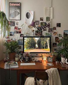 Bedroom Inspo, Bedroom Decor, Bedroom Ideas, Fridge Decor, Art Studio At Home, Room Goals, Aesthetic Room Decor, Room Interior Design, Simple Aesthetic