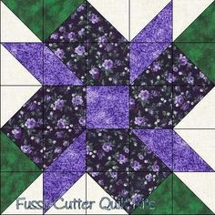 "Scrappy Fabric Calico Flowers Easy Pre-Cut Quilt Blocks Kit ""Scrappy Fabric Calico Flowers - no tutorial but early pattern - Easy Pre-Cut Quilt Blocks Kit Quilting Tips, Quilting Projects, Quilting Designs, Patchwork Quilt, Scrappy Quilts, Half Square Triangle Quilts, Square Quilt, Quilt Patterns Free, Pattern Blocks"