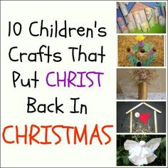 religious christmas crafts for kids to make