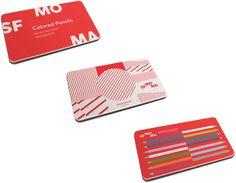 SF MOMA Color pencils
