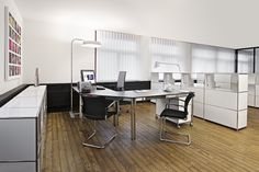 system4 Swiss modular furniture Office Set-up5 assembly inspired