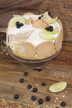 Pay de limón con galletas marías. Delicioso para cualquier ocasión, tienes que probarlo, es fácil y rápido.