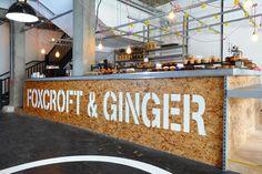 Foxcroft & Ginger, Whitechapel, London #cafe #coffeeshop