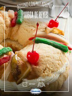 Mientras los pequeños de la casa esperan sus regalos, prepara una deliciosa Rosca para acompañarlos.    #recetas #quesophiladelphia  #quesocrema #philadelphia #Rosca #ReyesMagos