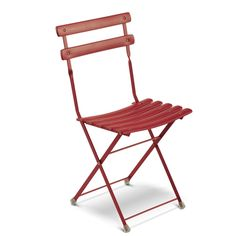 Buy the Folding chair Arc en Ciel from Emu, on Made in Design - 48 to 72 hours delivery. Outdoor Folding Chairs, Outdoor Armchair, Patio Dining Chairs, Eames Chairs, Garden Chairs, Outdoor Furniture, Room Chairs, Emu, Design Bleu