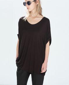 OVERSIZE T-SHIRT from Zara