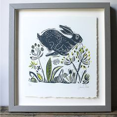 Original framed prints by Sam Wilson, available from The Arc Gallery.