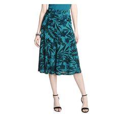 Midi Skirt in Teal from Joe Fresh