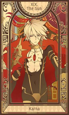 Fate/Apocrypha - Tarot Card