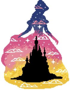 Belle cross stitch pattern Beauty and the beast Disney cross stitch pattern princess modern cross stitch pattern counted Disney Cross Stitch Patterns, Modern Cross Stitch Patterns, Cross Stitch Designs, Cross Stitching, Cross Stitch Embroidery, Peler Beads, C2c, Pattern Pictures, Sewing Patterns For Kids