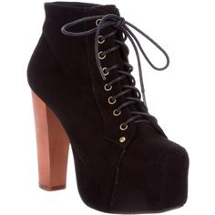 JEFFREY CAMPBELL 'lita' boot found on Polyvore. I need to learn to wear heels better, just so i can even try a pair of beauties like these.