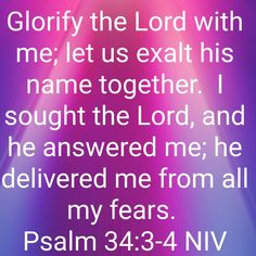 Deliver Me, Seek The Lord, Psalm 34, Names, Let It Be, Inspiration, Biblical Inspiration, Inspirational, Inhalation