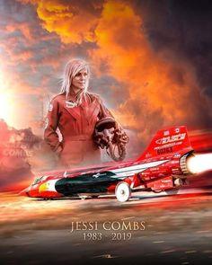noprepracing: Sad Day in Racing RIP Jessi Combs. Female Race Car Driver, Car And Driver, Jessi Combs, Racing Quotes, Top Fuel, Car Mods, Car Painting, Car Girls, Car Humor