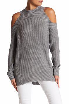 Abound   Cold Shoulder Knit Sweater   Nordstrom Rack