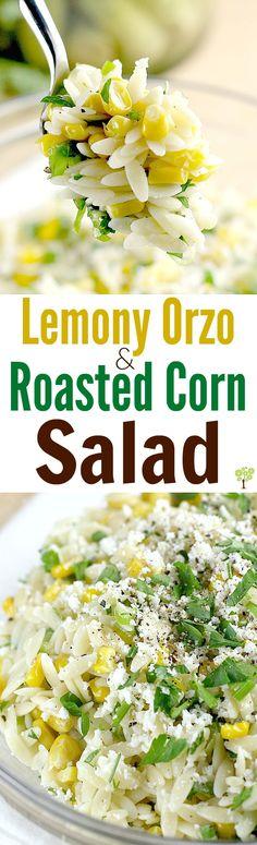 Lemony Orzo and Roasted Corn Salad http://wp.me/p4qC4h-3Fb