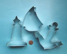 Sailboat Cookie Cutter Set  Anchor Cookie by DIYSweetSupplyCo, $8.98