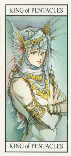 King of Pentacles in Miracle Tarot