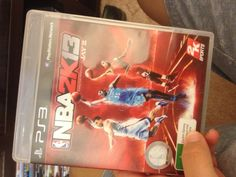 playing NBA 2k13 on my playstation