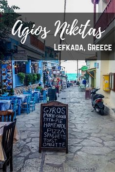 We weren't really planning to see Agios Nikitas, in fact we were headed elsewhere when we passed by it… Cool Places To Visit, Places To Go, Greece With Kids, Santorini Hotels, London Blog, Greece Holiday, Sailing Adventures, Greece Travel, Travel Europe