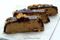 Turron de yema cubierto con chocolate