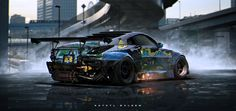 350z, Khyzyl Saleem on ArtStation at http://www.artstation.com/artwork/350z