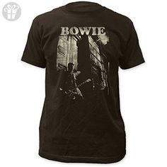 Unique Vintage David Bowie Guitar Fitted Jersey T-Shirt X-Large High Quality ... - Birthday shirts (*Amazon Partner-Link)