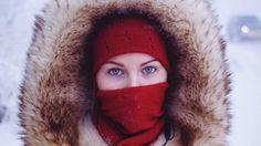 una mujer en Yakutsk, capital de la república de Sajá