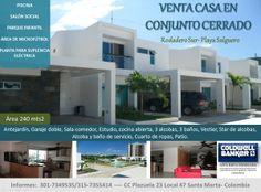 Casa en venta Conjunto Cerrado, Playa Salguero, Santa Marta