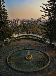 El D.F. desde el Castillo de Chapultepec