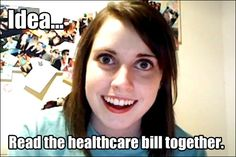 The overly attached girlfriend meme is pretty popular. It is about what a crazy girlfriend or ex girlfriend thinks. Memes Humor, Funny Memes, Hilarious, Truck Memes, Funny Quotes, Girlfriend Meme, Crazy Girlfriend, Obsessed Girlfriend, Flirting Humor
