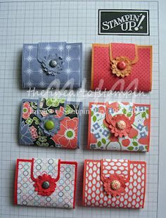The Fine Art of Stampin, mini sewing kit tutorial, stampin up! stampin-up 3d Paper Crafts, Paper Gifts, Paper Crafting, Craft Projects, Sewing Projects, Sewing Kits, Stampin Up, Paper Purse, Craft Show Ideas