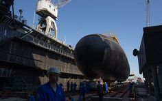 The last of six Varshavyanka-class (NATO reporting name Improved Kilo-class) diesel-electric powered submarines for the Russian Black Sea Fleet has been launched at the Admiralty Shipyards in St. Petersburg on Tuesday, a RIA Novosti correspondent reported.
