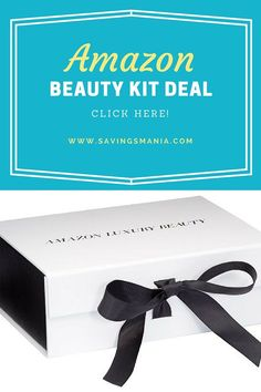 Get a Luxury Beauty Sample Box (includes 13+ high-end beauty products) for only $7.64 when you ent...