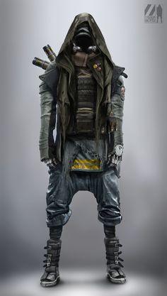 Rolf Bertz Concept Art: cyborg apocalypse survivor . . . . . der Blog für den Gentleman - www.thegentlemanclub.de/blog