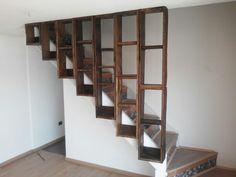 Biblioteca escala Stairs, Shelves, Home Decor, Furniture, Blue Prints, Stairway, Shelving, Decoration Home, Room Decor