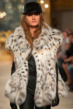 lynx fur vest