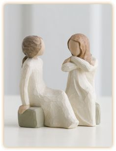 Willow Tree Heart and Soul Figurine by Susan Lordi, Demdaco Best Friend Day, Friends Day, Friends Forever, Dear Friend, Willow Tree Familie, Willow Tree Engel, Willow Tree Figuren, Willow Tree Cake Topper, Willow Tree Nativity